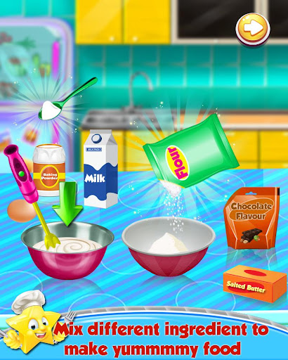 Cooking Recipes - in The Kids Kitchen  screenshots 4