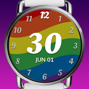 Pride Time™ - Watch Face for Wear OS