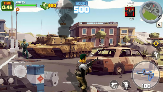 Gangstar City: Modern Gun Strike 3D- FPS Shooter