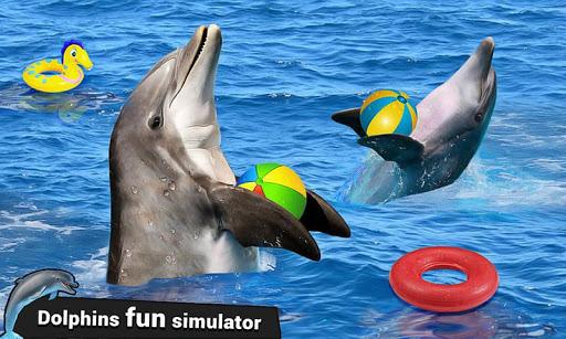Dolphin Water Stunts Show  screenshots 3