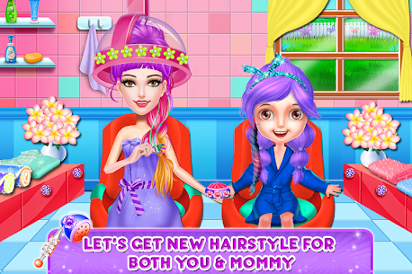 Spa and Makeover Day with Mom – DressUp & Fashion – Mod + APK + Data UPDATED 2