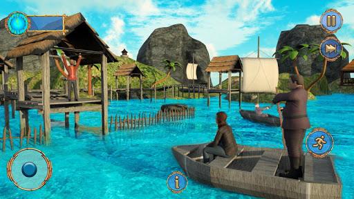 Raft Survival Ocean-Explore Underwater World Games android2mod screenshots 4