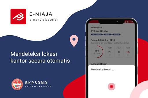 eNiaja Smart Absensi Kota Makassar apktram screenshots 2