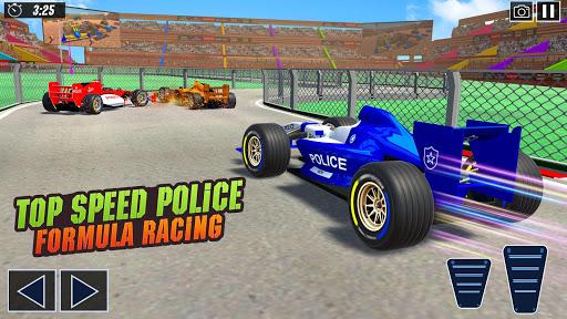 Police Formula Car Derby Demolition Crash Stunts  screenshots 5