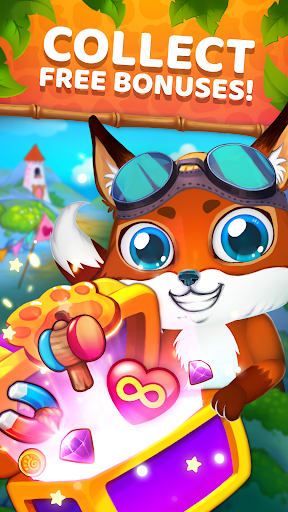 Animatch Friends - cute match 3 Free puzzle game screenshots 3
