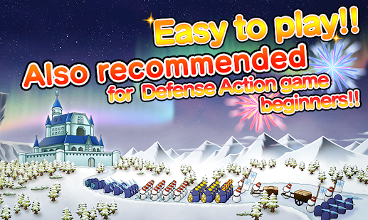 SNOW WORLD:Easy defense action Capture d'écran