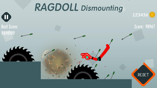 Ragdoll Dismounting apkmartins screenshots 1