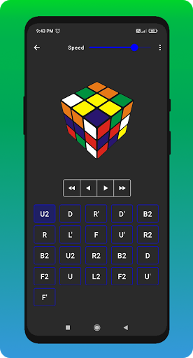 Cube Cipher - Rubik's Cube Solver and Timer apkdebit screenshots 5
