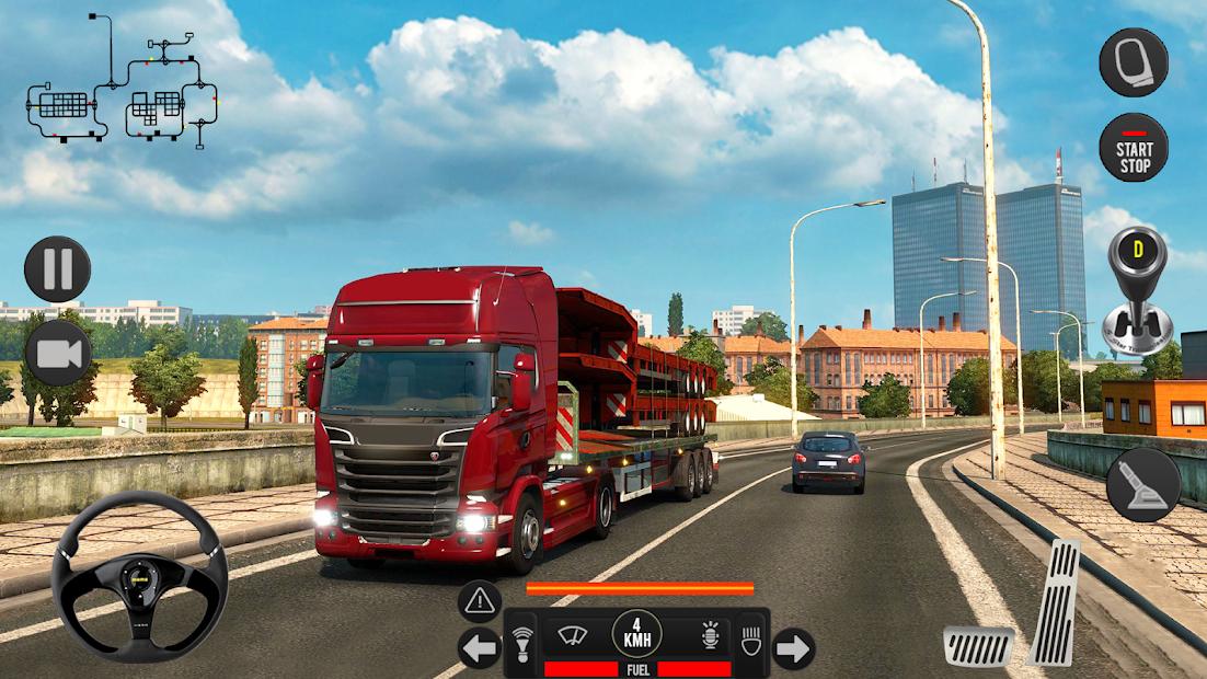 Captura 8 de Camión pesado mundial: nuevos juegos de camiones para android