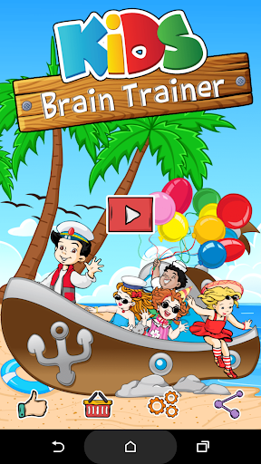 Kids Brain Trainer (Preschool) apktreat screenshots 1