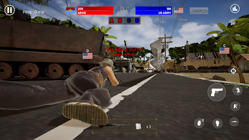 Red Storm : Vietnam War - Third Person Shooter 1.09 screenshots 5