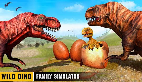 Wild Dino Family Simulator: Dinosaur Games 1.0.15 Screenshots 9