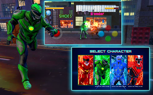 Dino Hero Ninja Fighters Battle Shadow Steel Game Hack Android and iOS 3