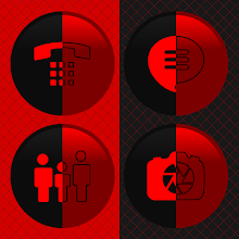 Duplicitous - Two Face Red Icons Download on Windows