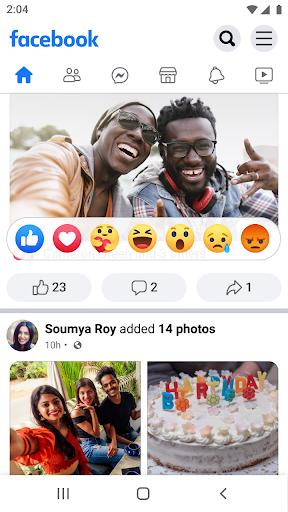 Facebook Lite screenshots 2