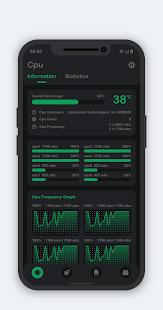 System Monitor - Cpu, Ram Booster, Battery Saver Screenshot