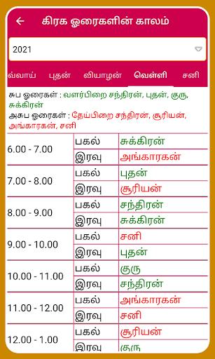 Tamil Calendar 2021 Tamil Calendar Panchangam 2021 6.4 Screenshots 23