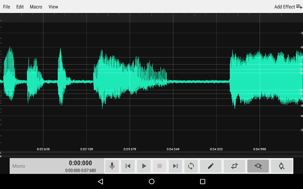 WaveEditor for Android™ Audio Recorder & Editor poster 14