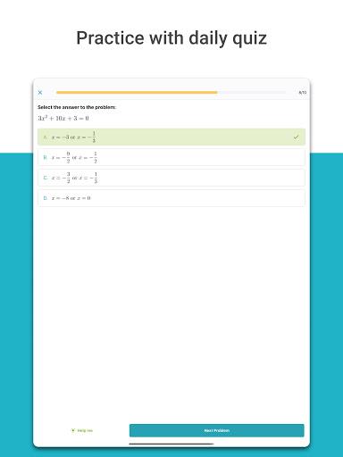 Foto do Microsoft Math Solver