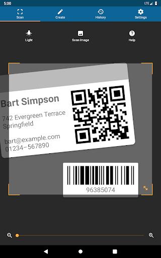 QRbot: QR & barcode reader android2mod screenshots 9
