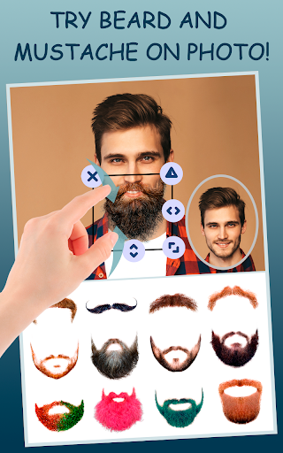 Men Makeup Photo Editor Handsome!ud83cudfc6 1.4.8 Screenshots 14