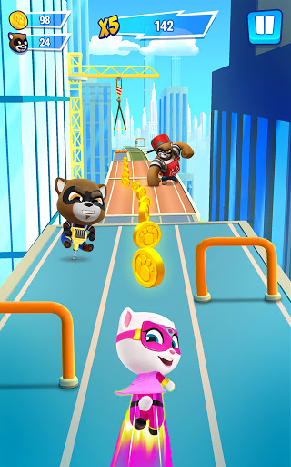 Talking Tom Hero Dash - Run Game 2.2.1.1300 screenshots 8