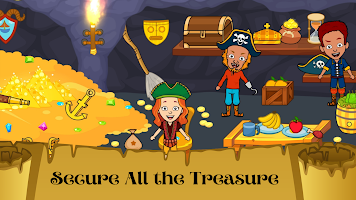 My Pirate Town - Sea Treasure Island Quest Games
