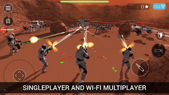 CyberSphere: SciFi Third Person Shooter Mod Apk (Unlocked) 5