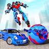 Ball Robot Car Transform Games - Robot Games game apk icon