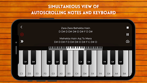 Play Piano : Piano Notes | Keyboard | Hindi Songs  screenshots 1