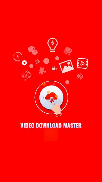 Captura 2 de Video download master - Download for insta & fb para android