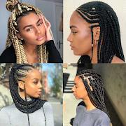 African Braid Hair Style