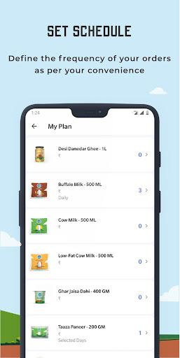 Country Delight - Online Milk Delivery App 4.7.8 screenshots 3