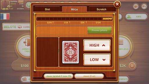 Coinche & Belote 11.0.72 screenshots 11