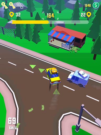 Taxi Run - Crazy Driver poster