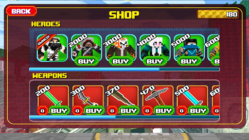 Block Mortal Survival Battle  screenshots 2