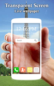 Transparent Screen and Live Wallpaper 1.7 Mod APK [Premium] 1
