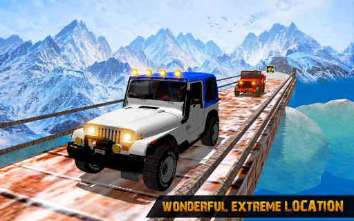 Offroad Jeep Driving Simulator : Real Jeep Games Apkfinish screenshots 6
