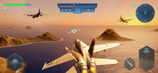 Sky Warriors: Air Clash  screenshots 2