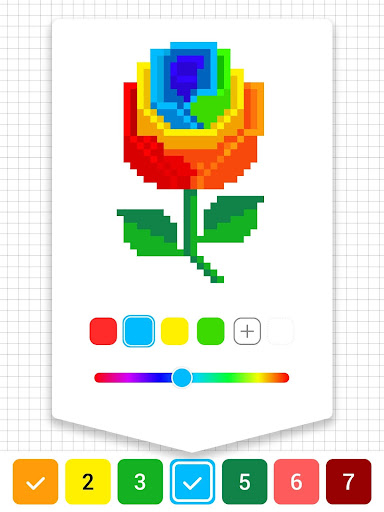 Draw.ly - Color by Number Pixel Art Magic Coloring 3.0.9 screenshots 11