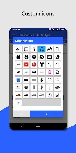 Bluetooth audio device widget: connect, play music  Screenshots 6