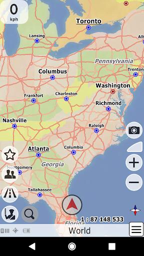 bGEO GPS Navigation  screenshots 4