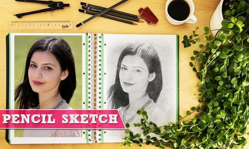 Pencil Sketch Art Photo Editor 2021 apktram screenshots 1