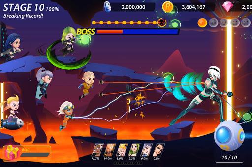 Idle Hero Z - Summon & Merge Cyberpunk 1.0.2 screenshots 16