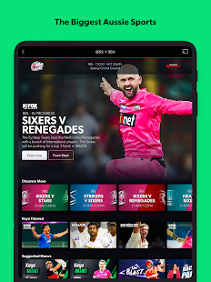 Kayo Sports - for Android TV screenshots 9