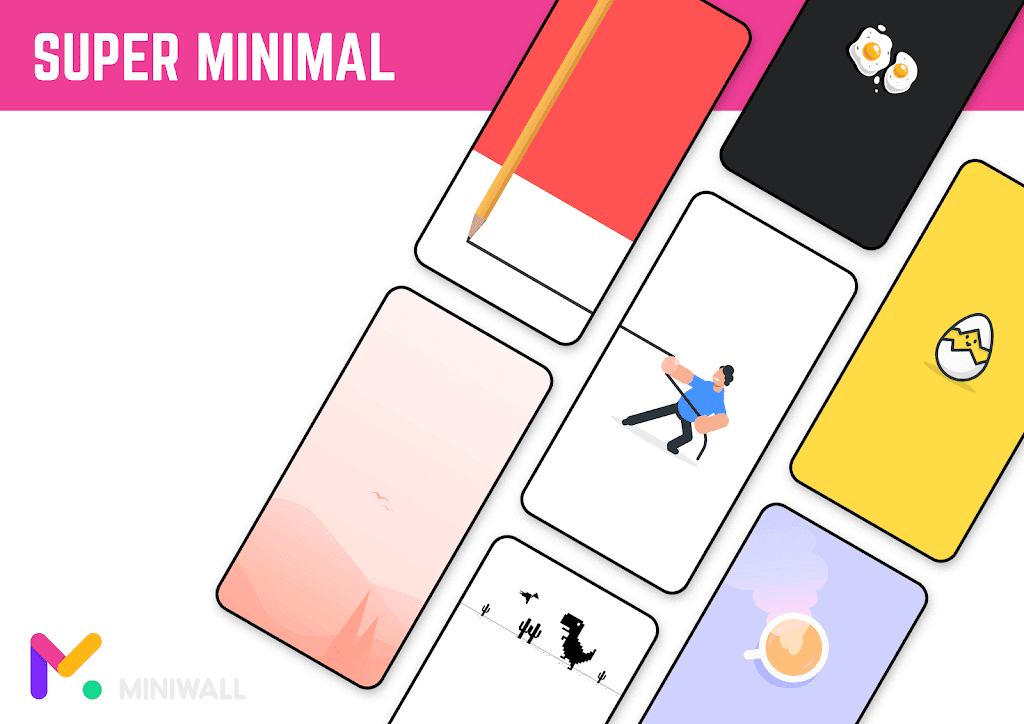 MiniWall Wallpapers  poster 2