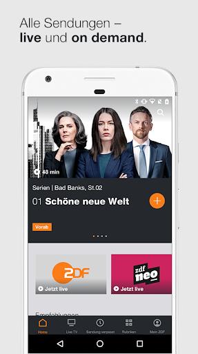 ZDFmediathek & Live TV  screenshots 1