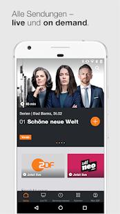 ZDFmediathek & Live TV Screenshot