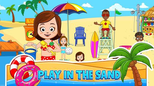 My Town : Beach Picnic apktram screenshots 2
