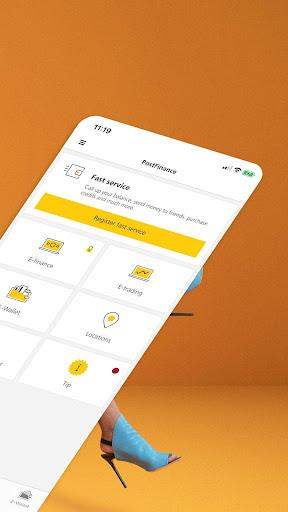 PostFinance Mobile 4.10.2 Screenshots 2